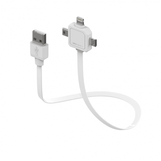 Kabel USB 3w1