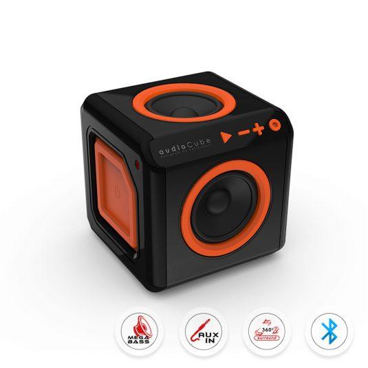 audioCube – Głośnik Bluetooth z dźwiękiem przestrzennym 360º