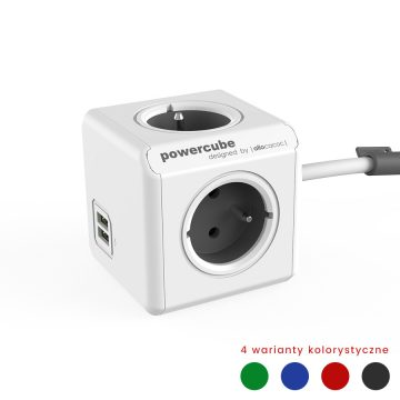 powercube-extended-usb-filtr-sieciowy-rozgaleznik-na-4-gniazda-2-gniazda-usb-z-systemem-mocowania