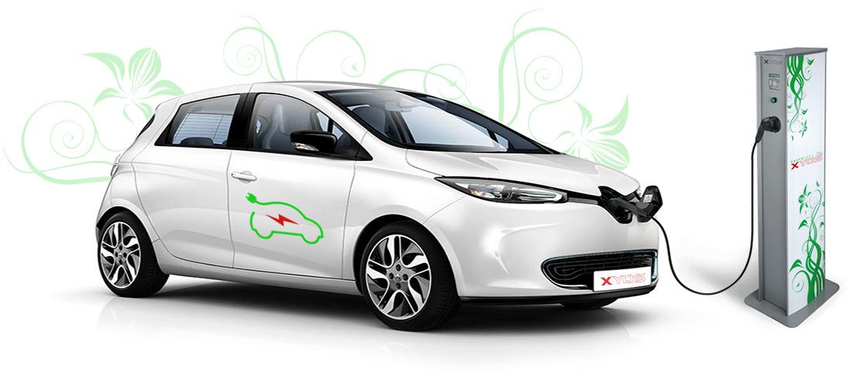Wolnostojąca stacja ładowania samochodów elektrycznych EV-CA XYOS GREENERGY